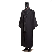 Wholesale Star Wars Darth Vader Outfit Anakin Skywalker Black Cosplay Costumes for Adult Men Sizes Halloween Clothing
