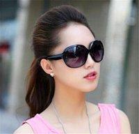 achat en gros de desinger miroir des lunettes de soleil-Lunettes De Soleil Desinger Pour Famale Protection Antireflexion Noir PC Plastique Classique Miroir Classique Adumbral Ovale Ornementale Blanc