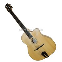 archtop guitar acoustic - Hot selling fully handmade archtop acoustic Gypsy guitar