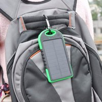 Wholesale Power Bank mAh Waterproof Solar Charger Dual USB Powerbank External Battery for Mobiles