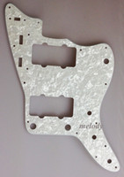 Wholesale For US Jazzmaster Pickguard Ply White Pearl