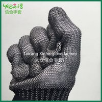 abrasion steel - New Stainless steel Working Protective Gloves Cut resistant Anti Abrasion Safety Gloves hot selling
