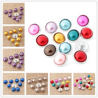 Wholesale Mix Colros Round mm Noosa Pretty cartton Interchangeable Snap Buttons DIY Jewelry Accessory Ginger Snap Jewellry