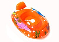 Cheap New baby swimming pool accessories baby inflatable circle or inflatable boat for kids baby toy swimming circle for swimming