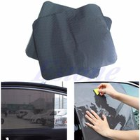 Wholesale Pc Car Side Rear Window Sun Block Static Cling Shade Cover Visor Shield Screen