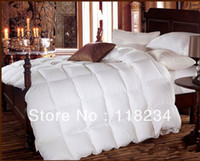 Wholesale Sales promotion White duck Down Alternative Comforter queen with Corner Tab