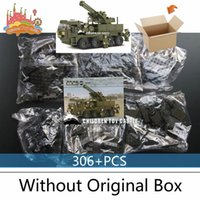 army set for kids - Compatible With legoe Heavy Transporter Military Army Toys For Kids Educational Assembly Block Set B0302 set arma playmobil toys