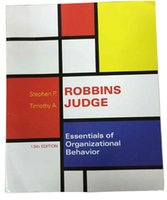 Wholesale Essentials of Organizational Behavior th Edition by Stephen P Robbins Author Timothy A Judge Author