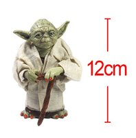 Wholesale 12cm Newest Star War Yoda STORM TROOPER Action Figure Model Toy For Kids Christmas Gift