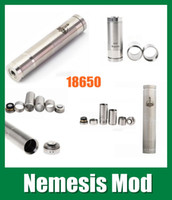 Cheap stainless and copper nemesis mod mechanical mod and nemesis mod nemesis mod ego vaporizer wax Nemesis Mechanical Mod TZ027