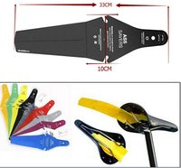 Wholesale Ass Saver Bike Cycling Race Fender MTB Road Commuter Bicycle Saddle Mudguard Ass Rear Fender Removable Parts