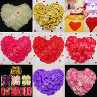 Wholesale New Fashion Simulation Rose Petals Wedding Supplies Party Valentine Artificial Flowers Colorful Home Decoration Popular