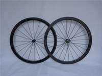 Wholesale 38mm Carbon Bike Wheels Shimano Speed Carbon Clincher Wheelset mm Chinese Road Bike Wheels Clincher with Powerway R13 Hub