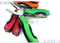 Wholesale Stainless Steel Multi function Plier Folding Outdoor Kit Knife Screwdriver Tool