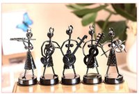 art craft wire - 2015 Creative Wire Girl Band Decoration Arts and Crafts Novelty Pieces Set Mix Handmade Metal Souvenirs