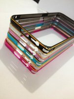 Metal samsung galaxy s4 - Iphone S Samsung Galaxy S6 S6 Edge S5 S4 S3 Note A7 Metal Bumper Frame Slim Aluminium Alloy Arc Bumper Frame Protector Case Cover