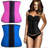 Wholesale weight loss hot shapers waist trainer body shapers Bodysuit slimming belt