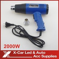 Wholesale New Electric Heat Hand Hold Speed Modes Tool W AC V Air Blower Hot Air Heat Gun Adjustable Temperature