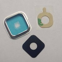 Wholesale DHL Camera Cover Lens Glass Frame Ring Adhesive For Samsung Galaxy S5 S4 S3 SM G900 F V A I9600 I9500 I9505 I9300 Replacement SV SIV SIII