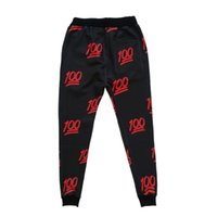 Wholesale Unisex emoji joggers mens printed jogger funny print jogging pants size S XL for teen boy running sweatpants ZA069