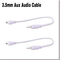 audio out cables - universal mobile cellphone micro usb to mm car aux out audio cable cord EL0553