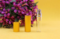 Wholesale empty perfume bottle ml Aluminium Anodized Compact Perfume Atomiser fragrance empty glass scent bottle