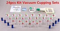 Wholesale 24pcs Vacuum Magnetic Cupping Sets Home Care and Medical Thickened Apparatus China Brand Name Traditional Chinese Medicine Medical Therapy