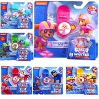 Wholesale 6Pcs set New dog Kids Toys Anime Dog Puppy Patrulla Canina Juguetes Brinquedos For Children Gift with box For Child Party Gift