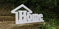 wood letters - Hot sale Freestanding Wood Wooden Letters White Alphabet Wedding Party Home Decorations height cm