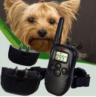 Wholesale LCD Level Shock Vibra Vibrate Remote Pet Dog Training Collar for lb lb