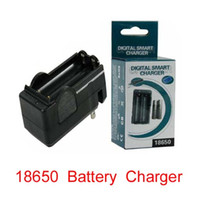 Wholesale Dual AC Battery Rechargable Charger Double Type US plug Charger for Li Ion v v battery with retail box
