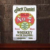metal plaque - White Old Time Metal Pub Wall Tavern Garage Shabby Chic Decor Home Bar Vintage Sign Tin Plaque CM x CM