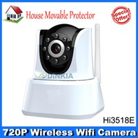 Wholesale Wifi IP Camera White Color IP Security Camera Plastic Color Best IP Camera System Best Quality DS OAM
