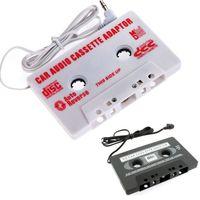 audio tape lot - 100pcs mm Jack Car Audio CASSETTE TAPE ADAPTER FOR iPhone Samsung Galaxy S3 S4 Nano MP3 IPOD NANO CD IPHONE