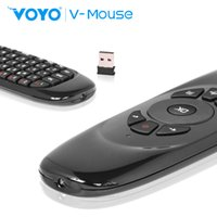 Wholesale NEW WIRELESS FLY AIR MOUSE KEYBOARD T2 G F10 CONTROL ANDROID TV BOX PC
