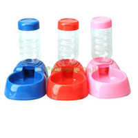Wholesale Hot Useful Automatic Water Dispenser Dog Cat Pet Food Feeder Dish Bowl Fountains