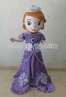 Cheap EVA,2014 Hot selling sofia the first princess costume sofia the first mascot costume