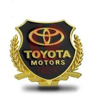 abc window - Toyota motor side mark ABC column side window decoration sticker d logo TOYOTA COROLLA CAMRY