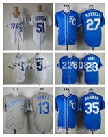 baseball pena - 2015 New Kansas City Royals Baseball George Brett Zack Greinke Brayan Pena Salvador Perez Eric Hosmer Broxton Jersey
