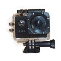 Wholesale 720P quot Waterproof Sport Action Camera Diving DVR Extreme Sport Helmet Video Camcorder Voice Recorder SJ4000
