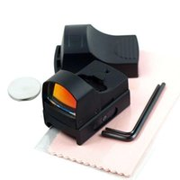 Wholesale 1X Tactical Holographic Reflex Micro MOA Red Dot Sight w Picatinny Weaver L0805 SUP5