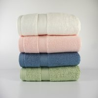 Wholesale 100 Pure Bamboo Fiber Towels Sof And Absorbent Charcoal Absorbent Towel To Increase The Thick Wash Bath