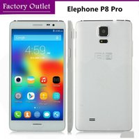 Wholesale Original Elephone P8 Pro quot MTK6592 Octa Core GHz Android MT Cell Phone GB RAM GB Dual SIM MP Camera GSM GPS Smart phone