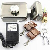 Wholesale Remote mute motor Electromagnetic Lock anti theft lock remote control door lock door home
