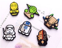 Wholesale New Star Wars force awakening white soldiers Darth Vinda black Samurai Fridge Magnets Home Décor