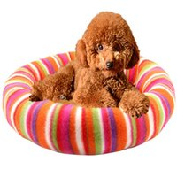 Wholesale Pet Short Plush Kennel Pet Nest Pad Teddy Warm Kennel House Pet Supplies Dog Mats Beds