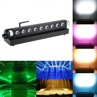 Wholesale Sound Control Auto Running Professional W LED DMX512 Channels RGBWY Color Changing PAR Wash Light Stage Lamp Party order lt no trac