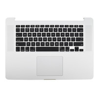 apple layouts - Topcase with keyboard Touchpad Trackpad US Layout For Apple Macbook Pro Retina A1398 Mid Early Year