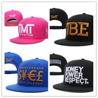 Wholesale Cheap TMT the money team Cayler Sons Baseball Caps Hip Hop Snapback Hats Stylish Cap Adjustable for Men