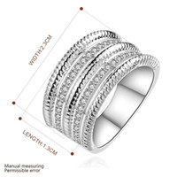 Wholesale Silver Ring Silver Fashion Jewelry Triple Stone Ring SMTR659